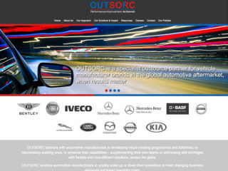Outsorc – Website Design